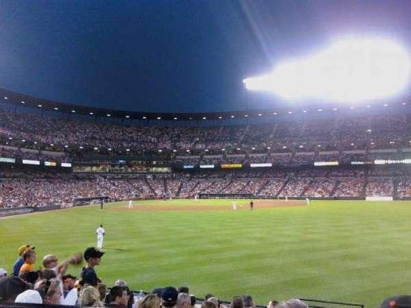 Oriole Park at Camden Yards, sección: 96, fila: G, asiento: 14