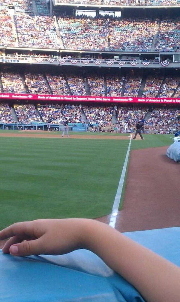 Dodger Stadium, sección: 49fd, fila: AA, asiento: 9