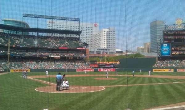 Oriole Park at Camden Yards, sección: 32, fila: 5, asiento: 7