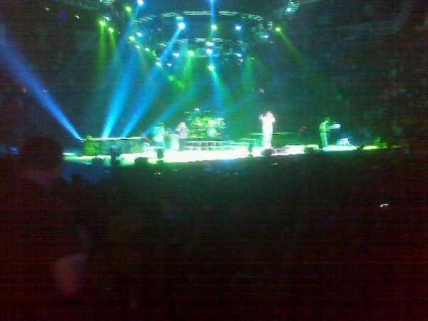 Michelob Ultra Arena, sección: 108, fila: 7, asiento: 7