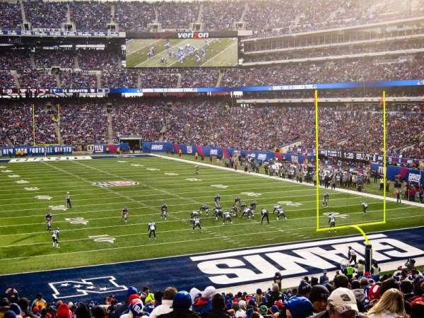 MetLife Stadium, sección: 104, fila: 34