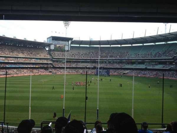 Melbourne Cricket Ground, sección: N3, fila: H, asiento: 13