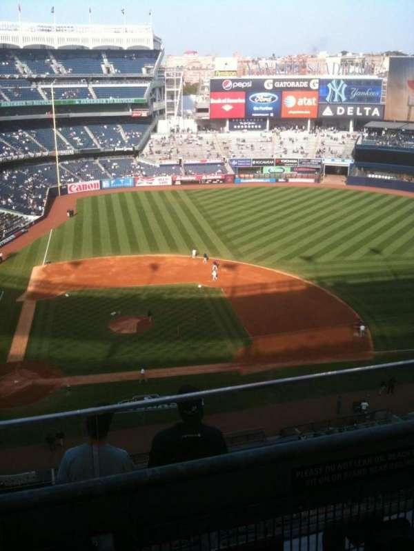 Yankee Stadium, sección: 417, fila: 6, asiento: 11