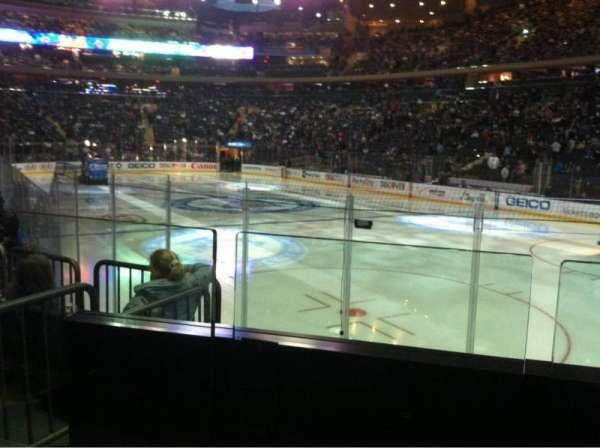 Madison Square Garden, sección: 120, fila: 7, asiento: 12