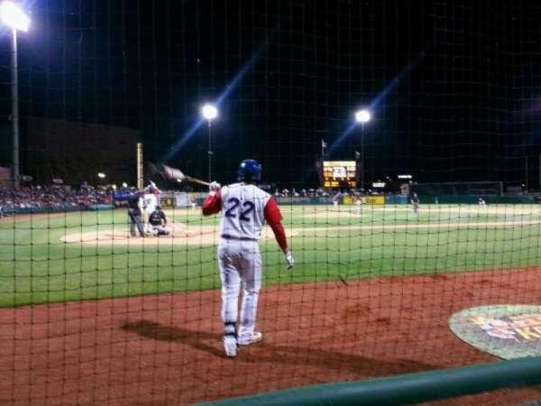 Banner Island Ballpark, sección: 112, fila: 2, asiento: 6