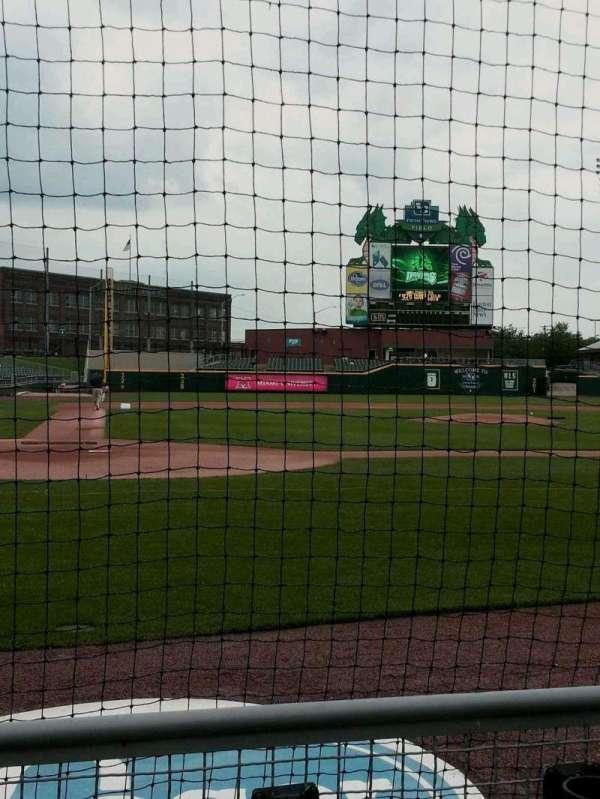 Fifth Third Field (Dayton), sección: 108, fila: 2, asiento: 6