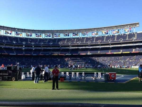SDCCU Stadium, sección: F38, fila: 2, asiento: 7