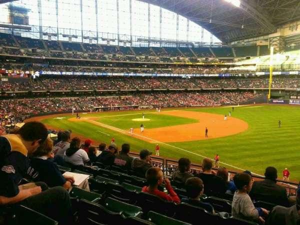 Miller Park, sección: 209, fila: 7, asiento: 18