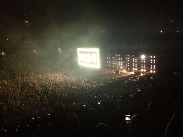 TD Garden, sección: Club 111, fila: E, asiento: 9