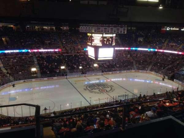 Northlands Coliseum, sección: 303, fila: 44, asiento: 11
