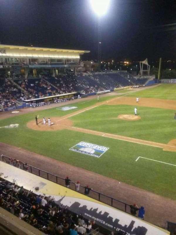 Richmond County Bank Ballpark, sección: Skline, fila: 1, asiento: 28