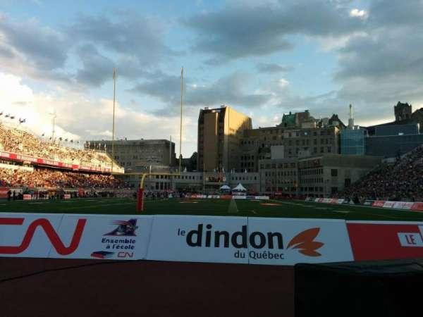 Percival Molson Memorial Stadium, sección: P3, fila: 1, asiento: 12