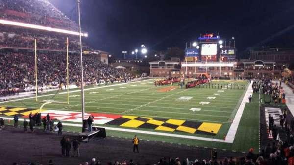 Maryland Stadium, sección: 17, fila: DD, asiento: 20