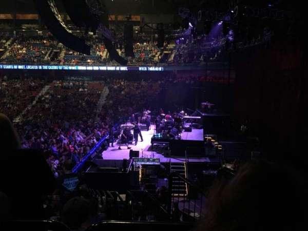 Mohegan Sun Arena, sección: 14, fila: T, asiento: 3