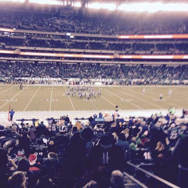 Lincoln Financial Field, sección: 119, fila: 26, asiento: 3