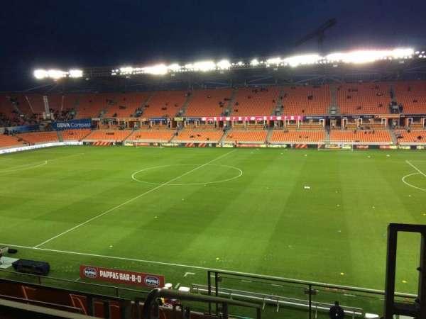 BBVA Stadium, sección: 205, fila: F, asiento: 1