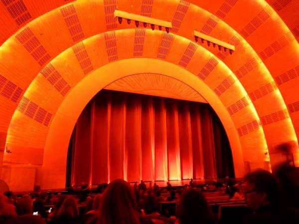Radio City Music Hall, sección: Orchestra 6, fila: C, asiento: 604