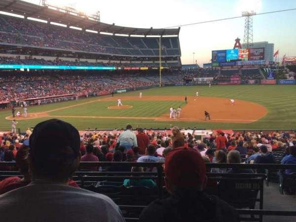 Angel Stadium, sección: T224, fila: C, asiento: 8
