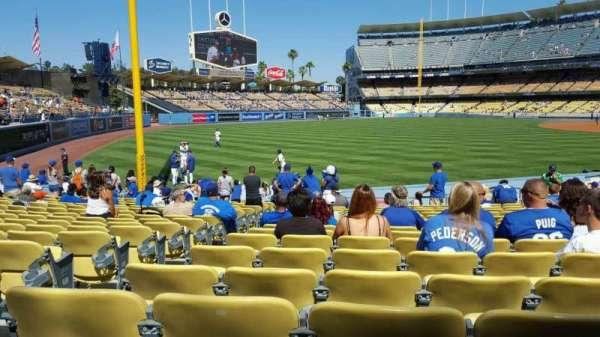 Dodger Stadium, sección: 47FD, fila: P, asiento: 19