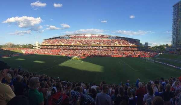 TD Place Stadium, sección: D, fila: 16, asiento: 9