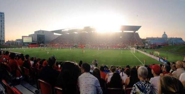 TD Place Stadium, sección: n, fila: 15, asiento: 20