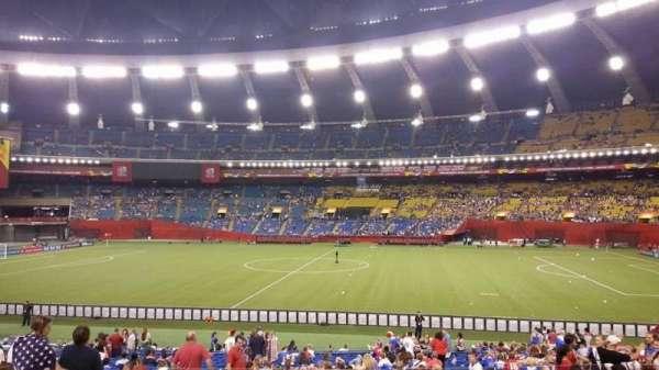 Olympic Stadium, Montreal, sección: 128, fila: L, asiento: 11