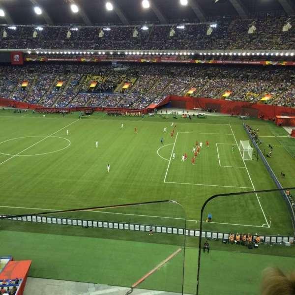 Olympic Stadium, Montreal, sección: 430, fila: BB, asiento: 4
