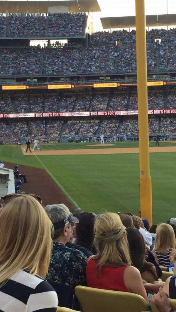 Dodger Stadium, sección: 50fd, fila: N, asiento: 10