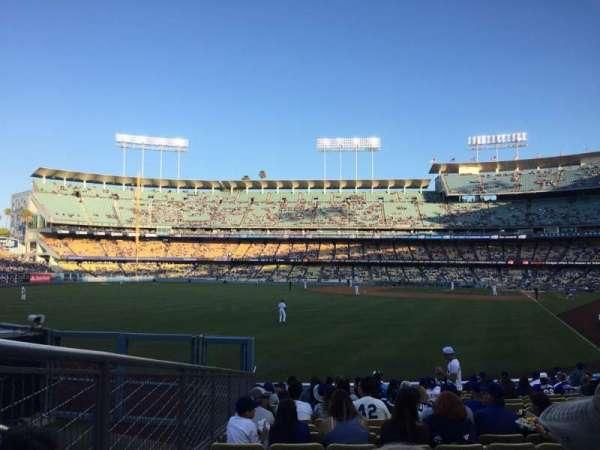 Dodger Stadium, sección: 53FD, fila: R, asiento: 7