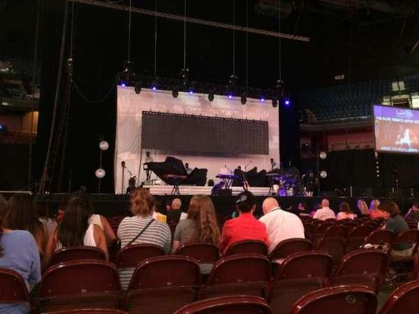 Mohegan Sun Arena, sección: Floor 3, fila: N, asiento: 5