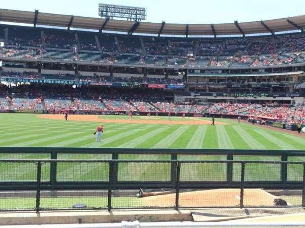 Angel Stadium, sección: P259, fila: G, asiento: 6