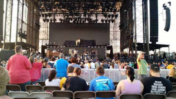 Hershey Park Stadium, sección: B, fila: 25, asiento: 17