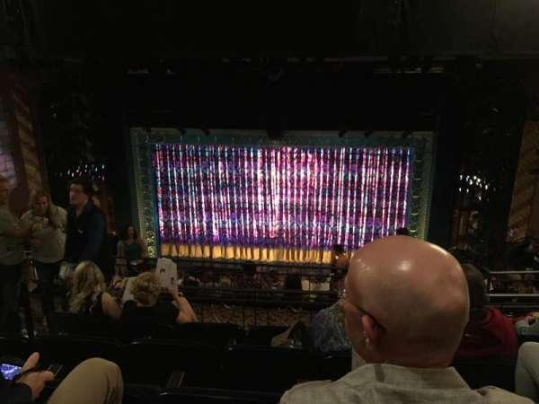 Lunt-Fontanne Theatre, sección: Rear Mezzanine RC, fila: E, asiento: 110
