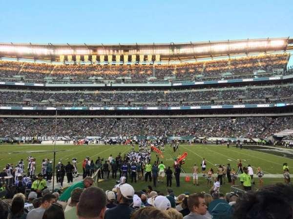Lincoln Financial Field, sección: 103, fila: 12, asiento: 12