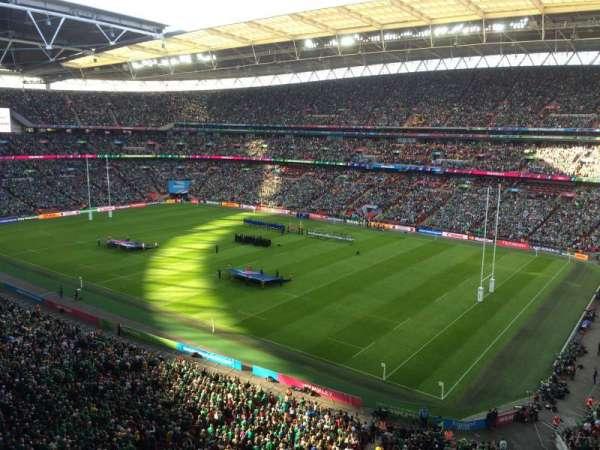 Wembley Stadium, sección: 521, fila: 1, asiento: 235
