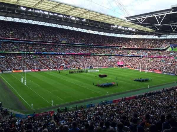 Wembley Stadium, sección: 232, fila: 8, asiento: 125 - 126