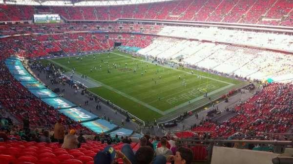 Wembley Stadium, sección: 519, fila: 21, asiento: 167