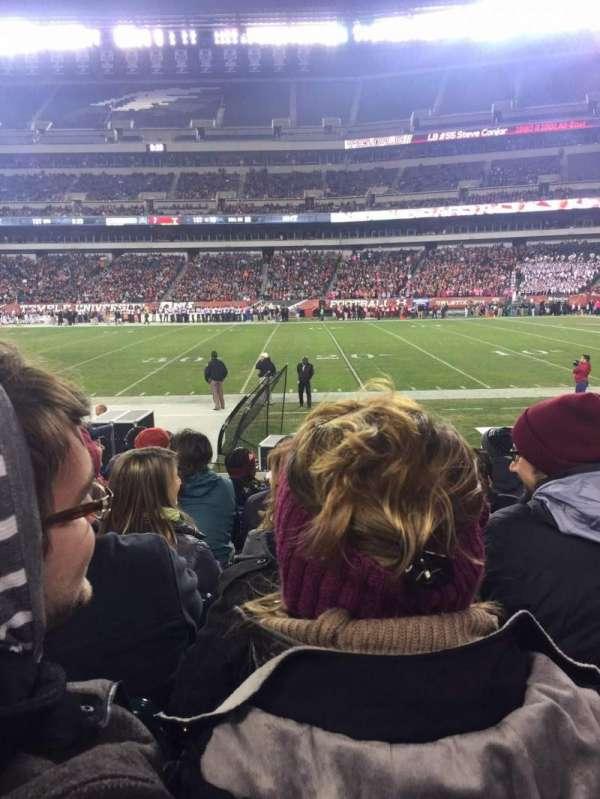 Lincoln Financial Field, sección: 103, fila: 8, asiento: 8
