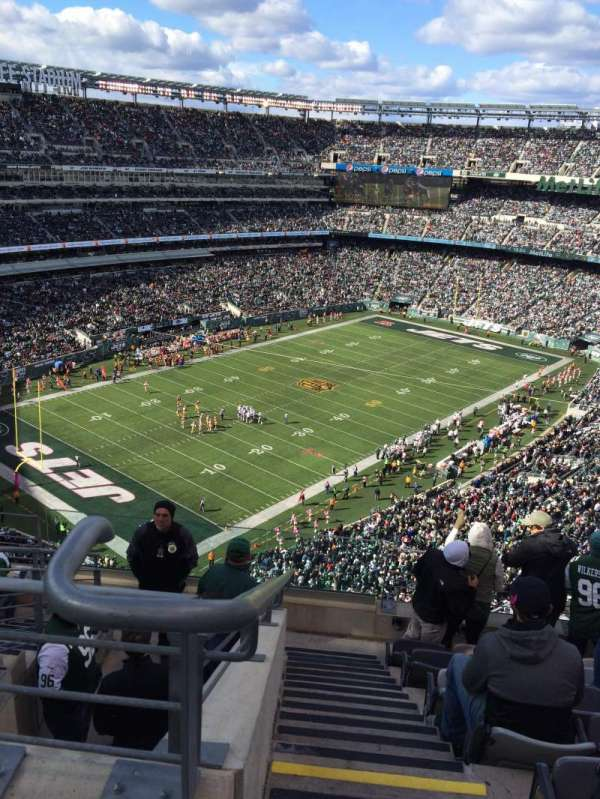MetLife Stadium, sección: 320, fila: 12, asiento: 25