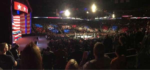State Farm Arena, sección: 117, fila: P, asiento: 5