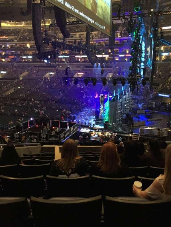Staples Center, sección: PR2, fila: 9, asiento: 6