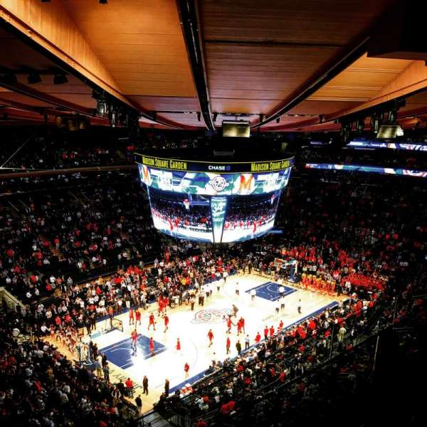 Madison Square Garden, sección: 310, fila: BS3, asiento: 1