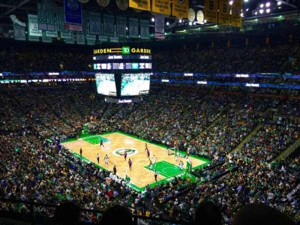 TD Garden, sección: BAL 327, fila: 3, asiento: 1