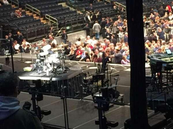 Madison Square Garden, sección: 103, fila: 15, asiento: 16