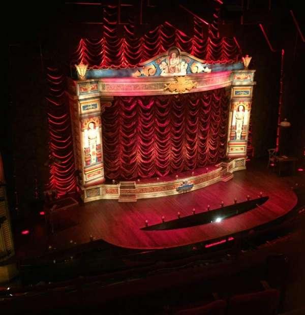 Walter Kerr Theatre, sección: Mezz Left, fila: G, asiento: 7