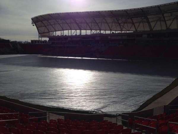 Rio Tinto Stadium, sección: 33, fila: p, asiento: 10