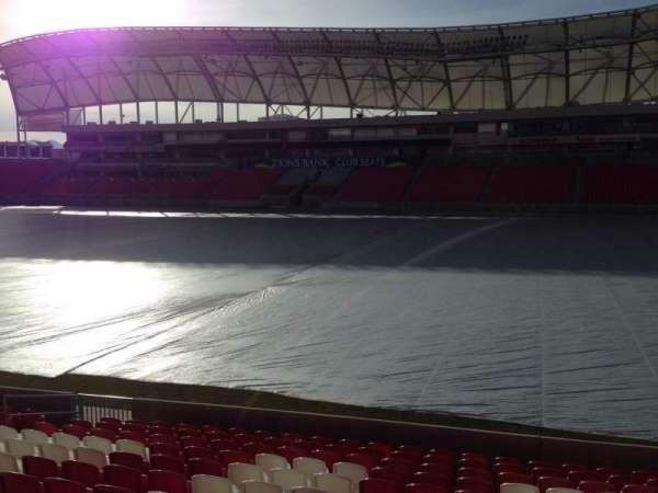 Rio Tinto Stadium, sección: 35, fila: p, asiento: 15