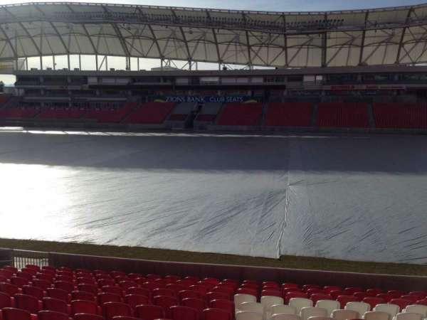 Rio Tinto Stadium, sección: 36, fila: p, asiento: 15