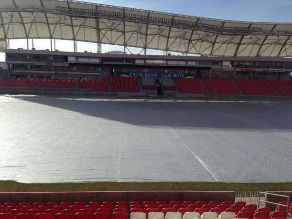 Rio Tinto Stadium, sección: 2, fila: p, asiento: 15