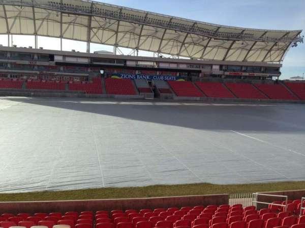 Rio Tinto Stadium, sección: 3, fila: p, asiento: 15